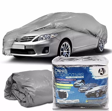 Capa Protetora Para Cobrir Carro Com Forro Central P M G