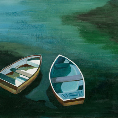 Two Rowboats #2