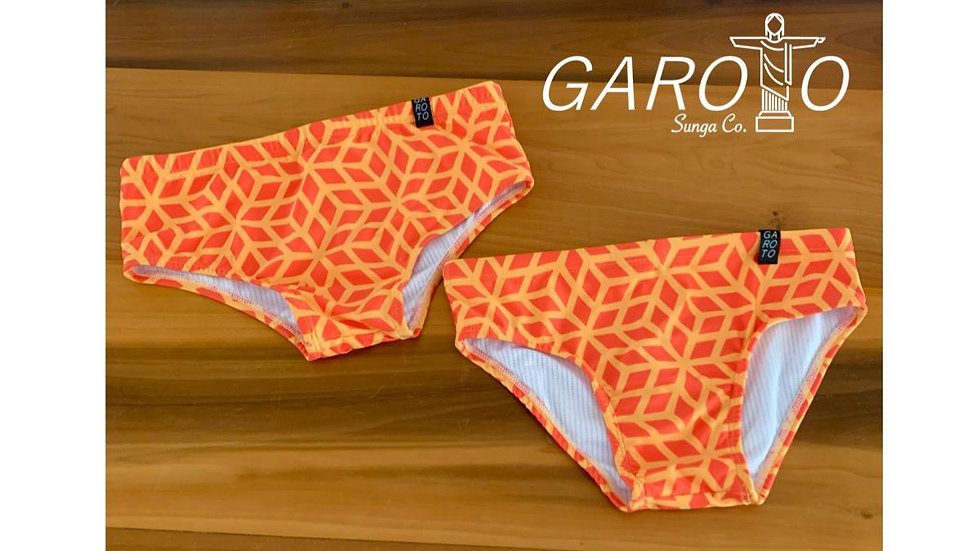 Bañador Orange Vintage | Garoto | Swim