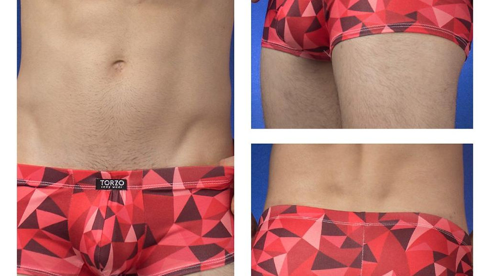 Boxer Triángulos Rojos | Torzo