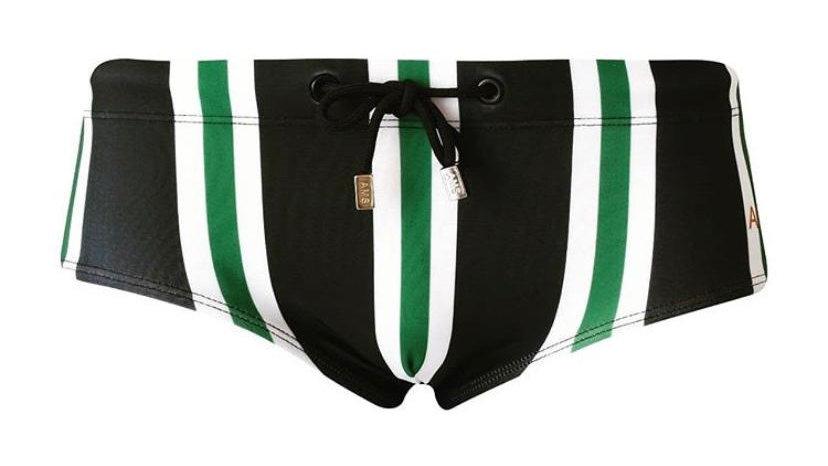 Swim Black & Green   Traje de Baño   AMS
