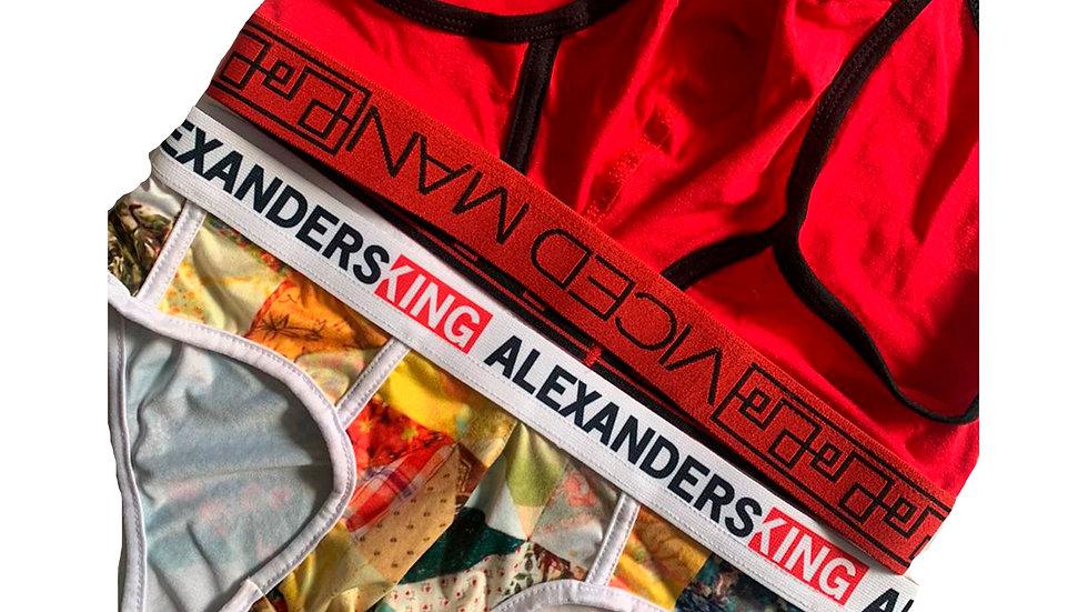 Pack 2 Briefs Alexanders King + Viced Man | Brief