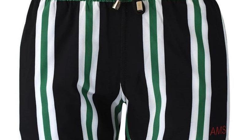 Sport Black & Green | Traje de Baño | AMS