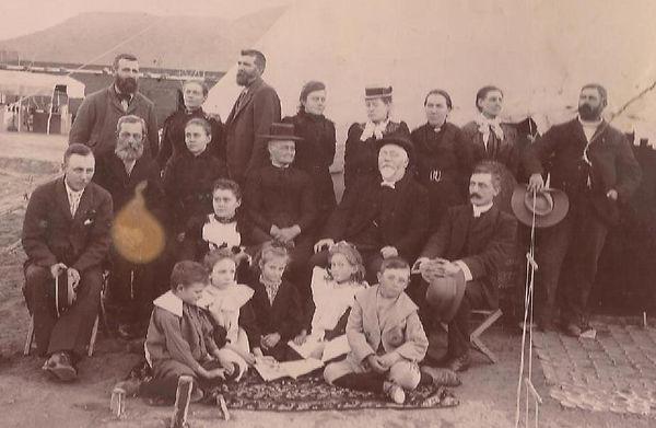 Konsentrasiekampfoto - Bohnen family-com