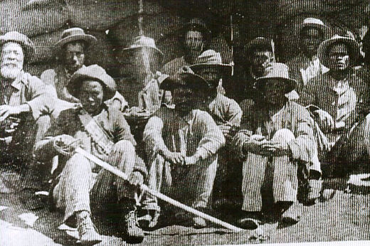 Black people in Philippolis after siege