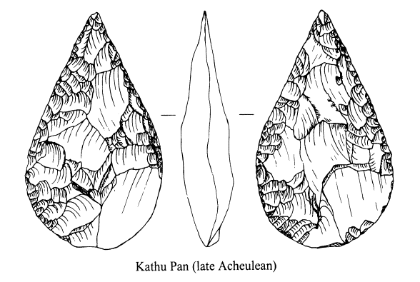 Early stone age tools in Kathu