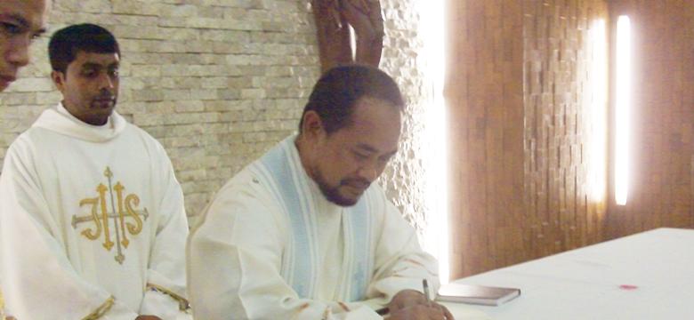 Renewal of triennial vows
