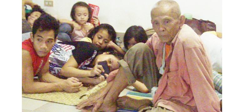 typhoon melor (nona) in Calbayog