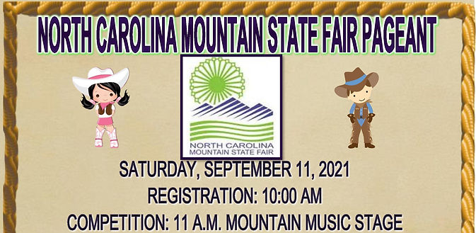 NORTH CAROLINA MOUNTAIN STATE FAIR PAGEA