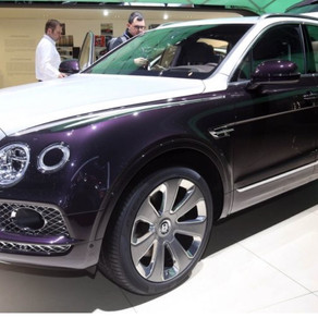 The 1st Bentley SUV is here!