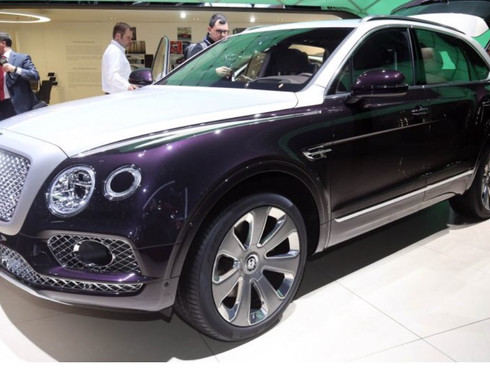 The 1stBentley SUV is here!