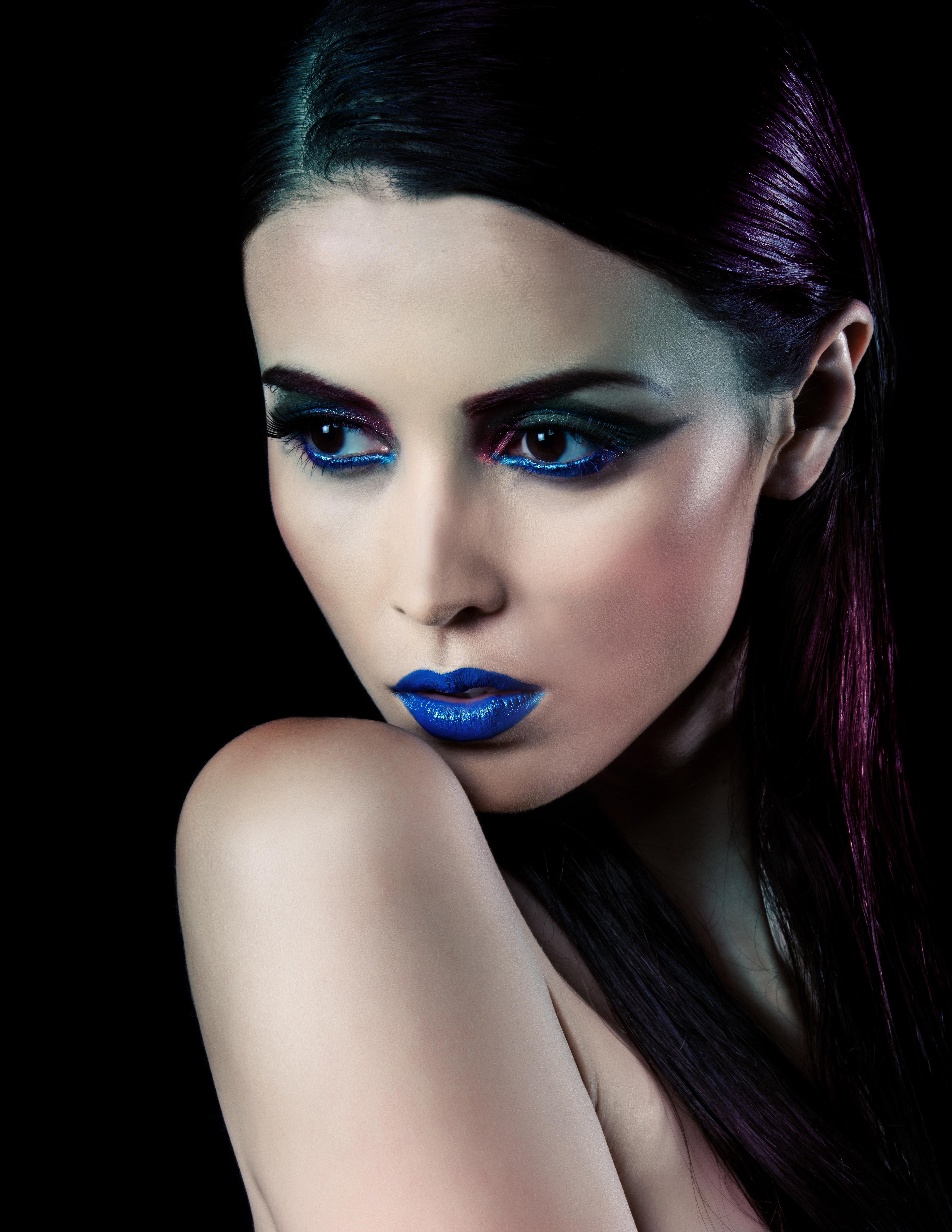 Nakeah Cosmetics Blue Lips