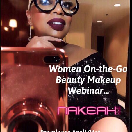Beauty Webinars: Women On-the-GO