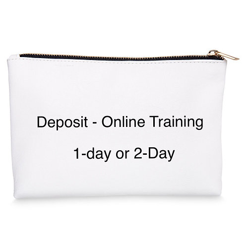 Online Deposit: 1-day or 2-day Course