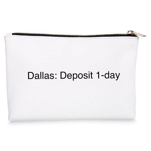Dallas: Deposit 1-day