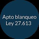 Apto blanqueo - Círculo 15 pct transpare
