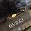 Thumbnail: Gucci  Coat Black Leather and Lamb Fur