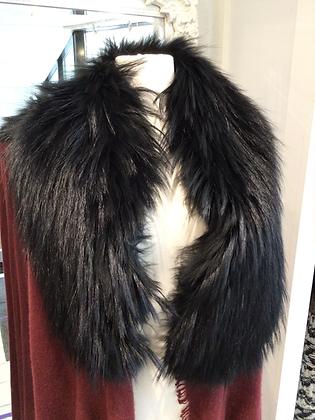 Fox Fur Cashmere Wrap