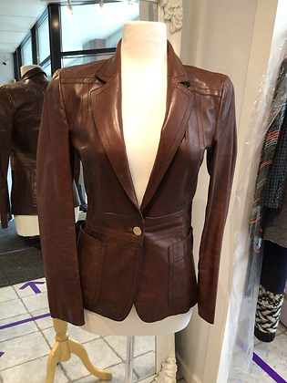 Gucci  Outdoor Brown Leather