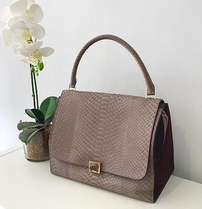 Celine  Python Large Trapeze Bag