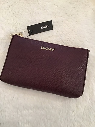 DKNY Leather Pouch