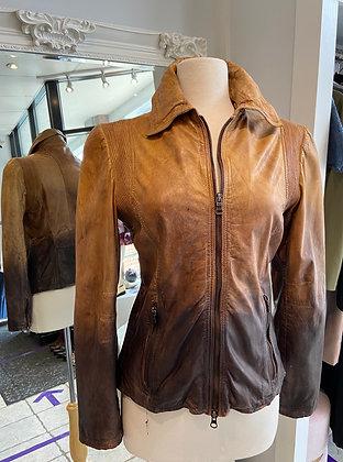 Milestone Ombré Leather Jacket