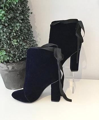 Zara Velvet Bootie