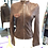 Thumbnail: Dolce & Gabbana  Outdoor Brown Leather Jacket