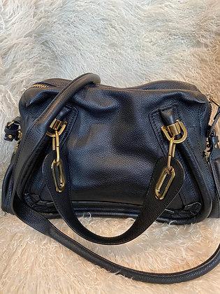 Chloe Black Leather Purse