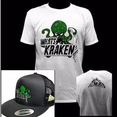 What's Kraken T-shirt and Hat Package