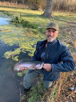 Rick 2019 Idaho Ranch Pond Trout