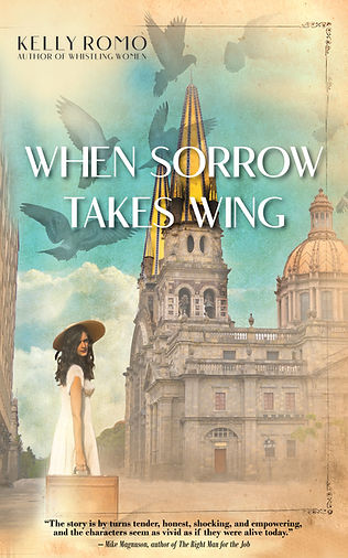 When Sorrow Takes Wing book cover Blurb
