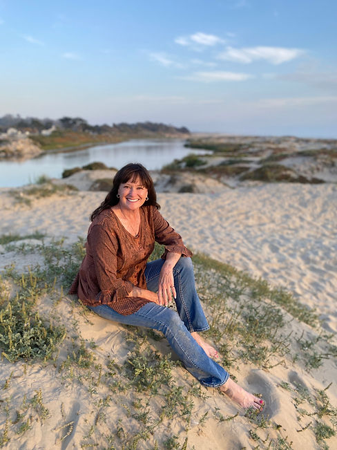 Kelly Romo at Pismo Beach