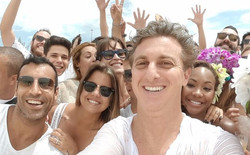RECORDING WITH LUCIANO HUCK