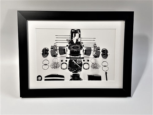 BMW Boxer Engine Jump Drawing