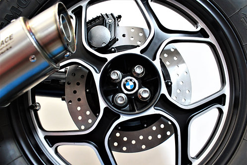 Aluminium Rear-Plug with BMW (OEM) 27mm logo / Various BMW models