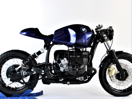 The Bavarian Blue Caferacer