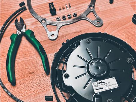 K100 RS Fan Wheel Upgrade