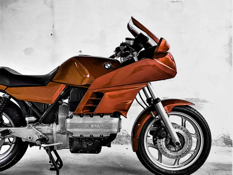 BMW K100 RS Caferacer project