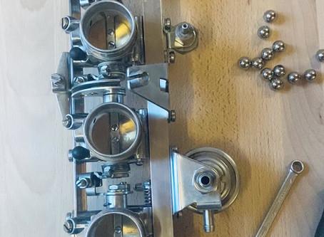 Synchronising Carburettor Throttle Valves