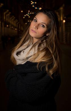 model: Denise Carosso