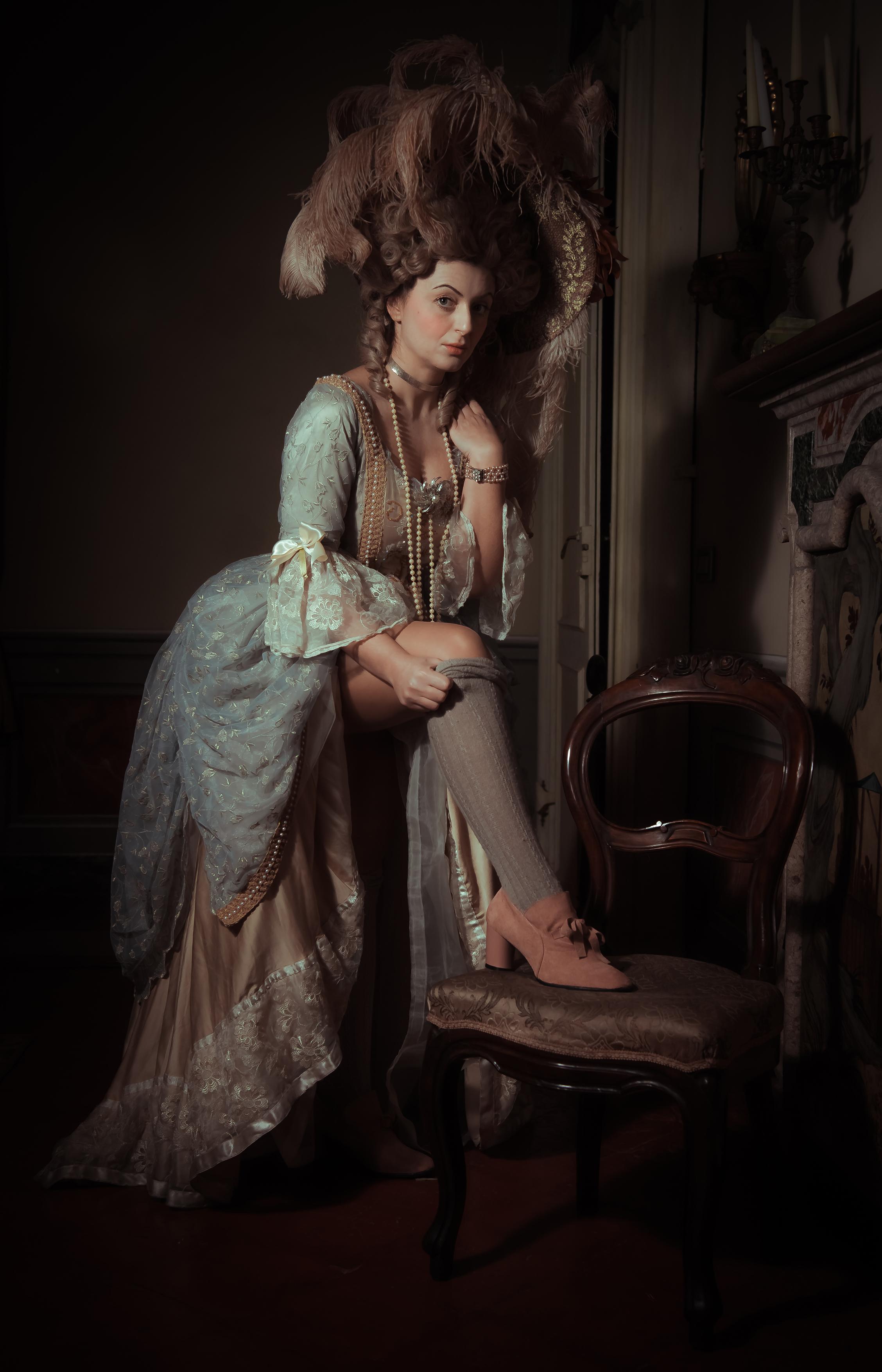 Model: Serena Chiaffredo