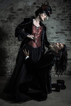 models: Cinzia Pilotto - Salem Dark
