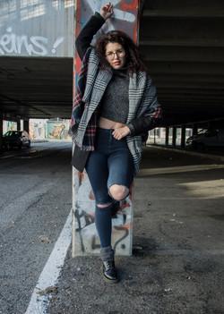 model: Chanel Manson Garcia