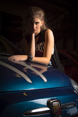 model: Giorgia Balbo