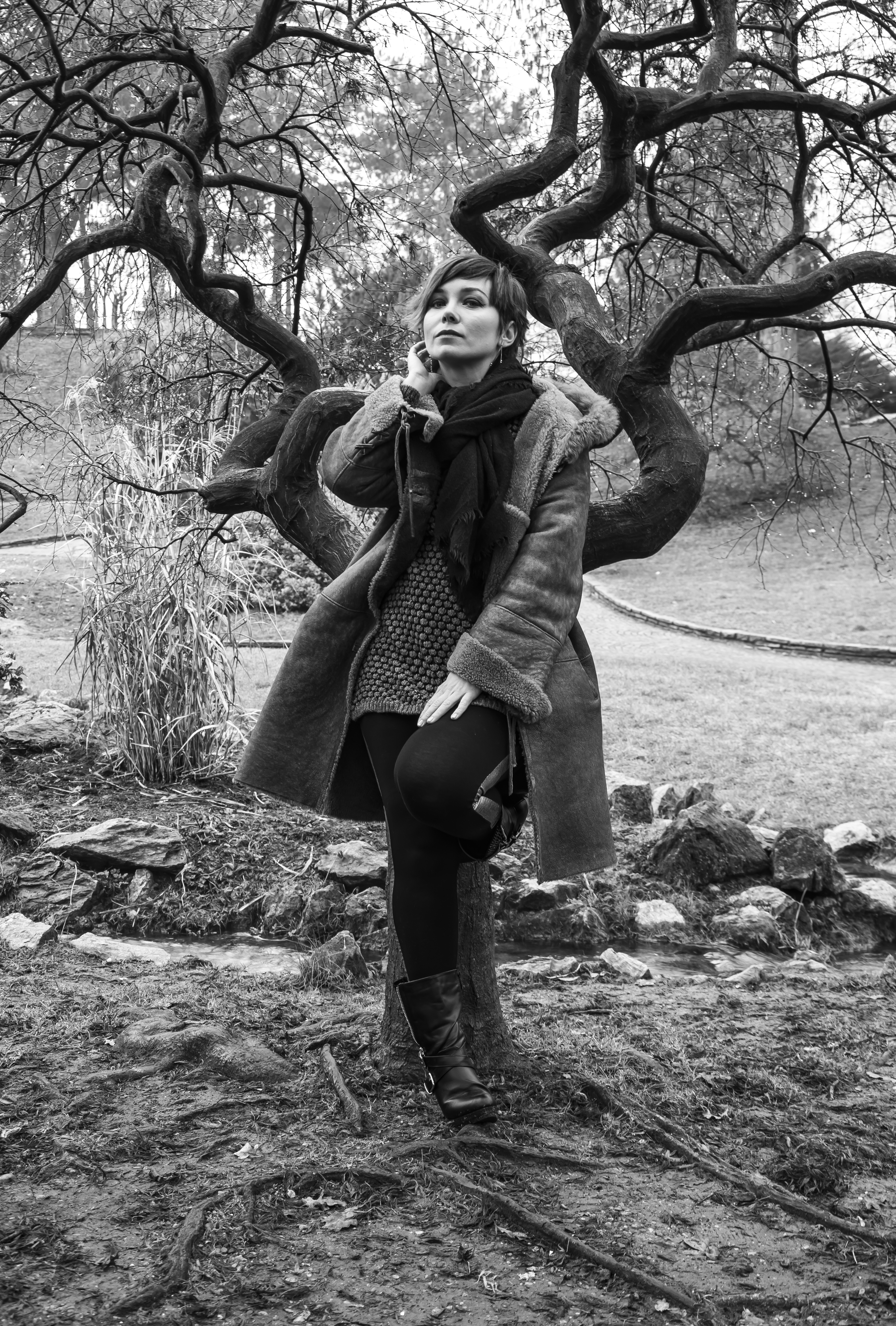 model: Andreea Tanase