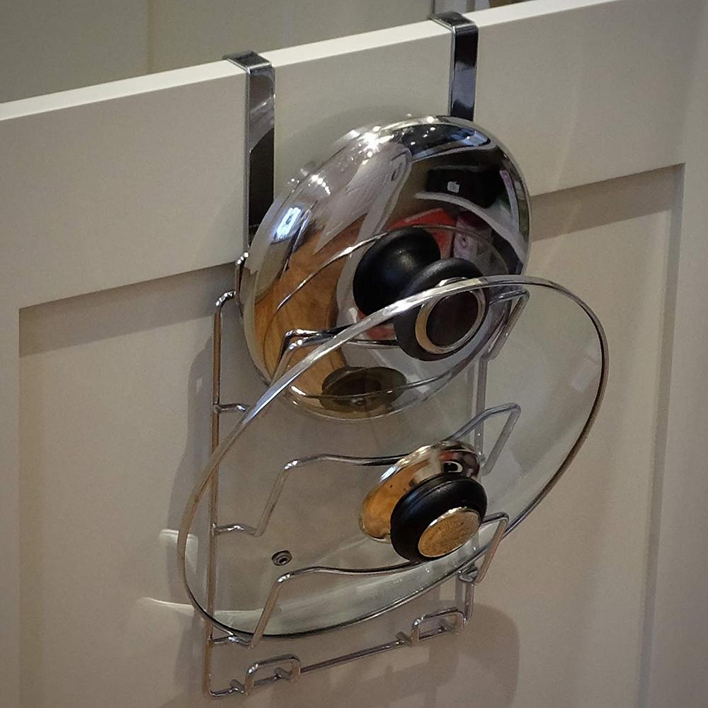 Portez Vous Bien support porte d'armoire pour les couvercles de casseroles