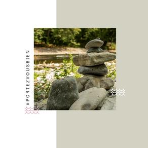 Les cairns : une occupation zen pour toute la famille.
