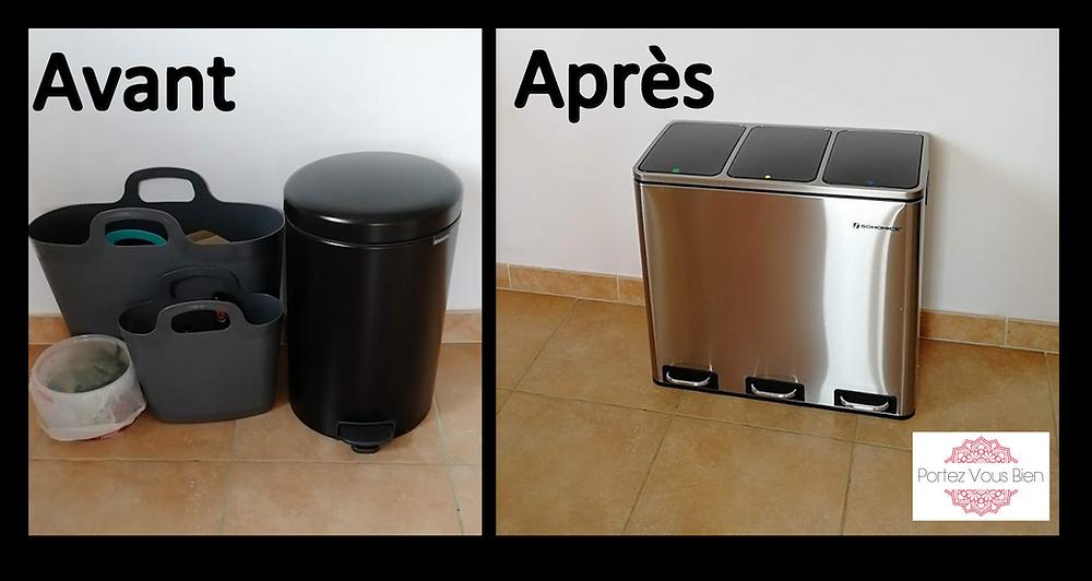 Le choix d'une poubelle pour la cuisine Portez vous Bien