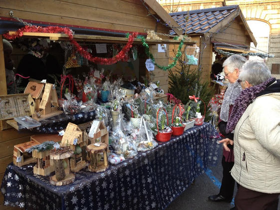Le traditionnel marché de noël